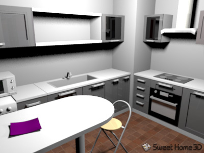 descargar mobiliario para sweet home 3d