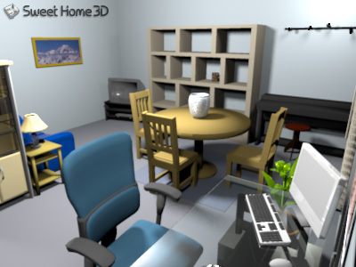 Inici ndonos en sweet home 3d for Sweet home 3d mobili