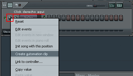 how to make a automation clip in fl studio