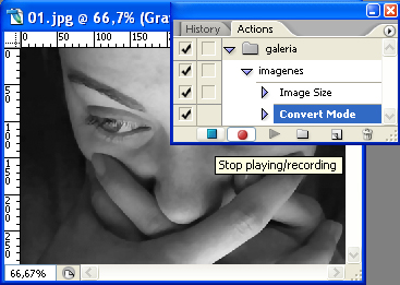3 Editar varias imagenes en Photoshop, con un solo click