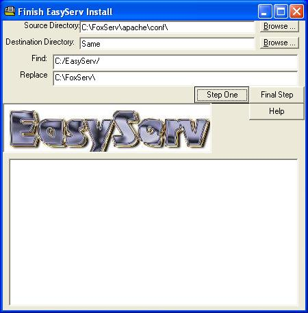 Finish EasyServ